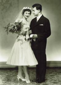 1959; svatba