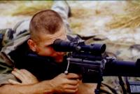 As a sniper in the Legion
