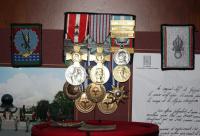 Military decorations of Stan Gazdik