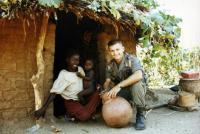 Stanislav Gazdík na misi v Čadu 1998