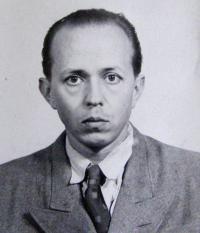 Trubáček na fotografii ve vězeňském spisu