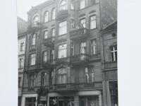 Dům v Poznani, kde M. Šupíková do ledna 1945 žila