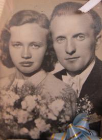 Jiří Fochler s manželkou Annou