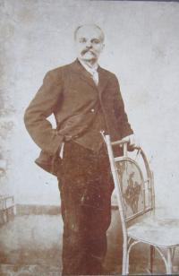 Dědeček Václav Baclar