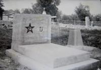 Hrob pilotů, kteří zahynuli při výcviku v Gruzinském městě Telavi
