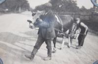 Otec s bratrem v Olšanech