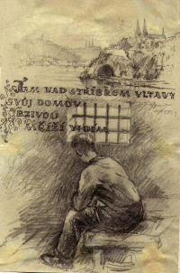 autor spoluvězeň Oldřich Vodseďálek