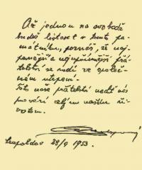 Leopoldovský památníček - autorem spoluvězeň generál Jan Syrový