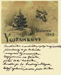 Dopis z vězení synovi Vojtěchovi