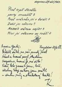 Leopoldovský památníček - autorem spoluvězeň, neznámý kněží