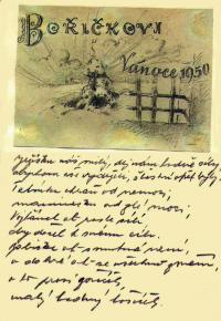 Dopis z vězení synovi Bořivojovi