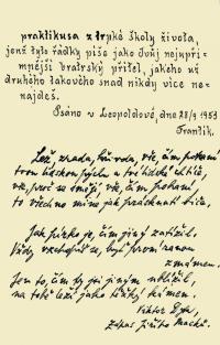 Leopoldovský památníček - autorem spoluvězeň František Nesvadba (2.)