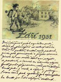 Dopis z vězení své rodině
