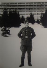 Ve Vyšných Hágách, leden 1945