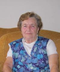Marie Králová in Lanškroun, October 2010