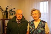Josed Švarc and Marie Králová in 2011