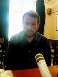Šimon Pánek v roce 2010
