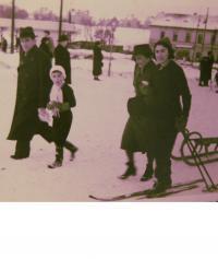 Na Bílé Hoře zima 1941/42
