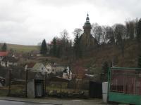Horní Slavkov - staré město