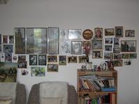 Zeď v bytě Heleny Esterkesové-Nový Jičín 2010