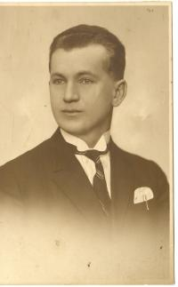 Podobizna majitele statku v Otrubech Františka Hořejšího