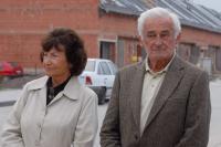 Květuše Bartoníčkova s Milanem Paumerem ve Slaném v září 2006