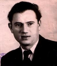 Young Rozman Michal before escape to the USSR