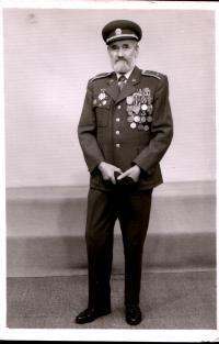 Retired Colonel Michael Rozman