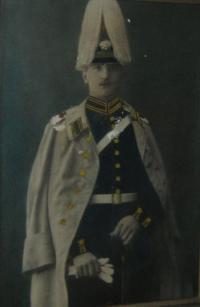otec pamětníka Demetrius v 1. světové válce