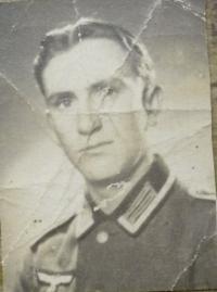 Josef Nosiadek ve wehrmachtu (2)