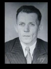 Otec Václav Hanf popravený s lidickými muži