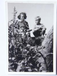 Vaclav with cousin Marie