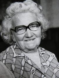 Mother Zofie Zelenkova in 70´s