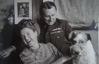 Karel Kutlvašr se svou manželkou