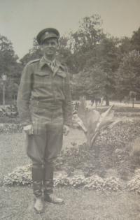 Jan Malášek, Praha 1945