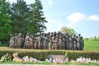 Pomník 82 zemřelých lidických dětí (zdroj: Klára Kučerová, 2014)