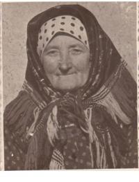 Matka Anna Hubená, roz. Slunská