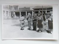 Opening ceremony of the cultural center (Mrs. Hanf on the right)