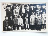 Group photo of women and children from Lidice