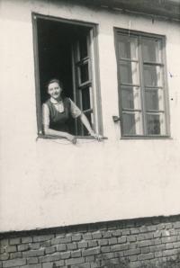 Ingeborg Cäsarová v Mohelnici, 1949