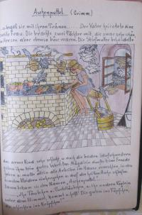 ilustrované básně od Friederike Rudolfph učitelky z Brna, která zahynula v internačním táboře ve Svatobořicích a učila pamětnici