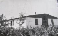 Ubikace kde bydlela rodina Przybylová(pamětnice)v internačním táboře v Mohelnici