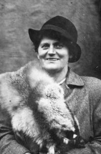 Maminka Eriky Bednářové - Žofie Rotter, 1937