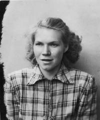 Erika Bednářová (Rotterová)-1955