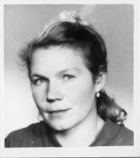 Erika Bednářová (Rotterová)-1965