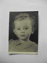 Renata Pavelková, cca 2 roky