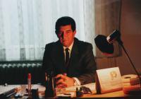 Ladislav Goral v době svého působení na Úřadu vlády ČR