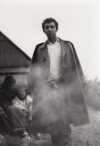 Se skautem v Černém Dole, 1975