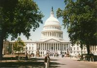 Marie in Washington, Capitol, 1999