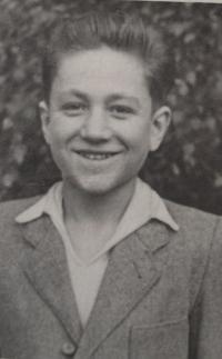 Pan Michopoulos po příjezdu do ČSR v roce 1948